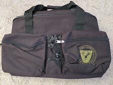 Alumni Campus Abroad Black Shopper Travel Tote Gym Bag HandBag 18 x 12 x 7  Med.