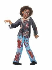 Zombie Child Costume, Halloween Child Fancy Dress, Large Age 10-12 #CA