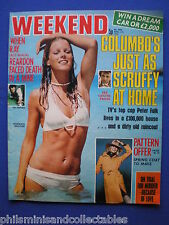 Weekend Magazine - Peter Falk, Ray Reardon, Mariann Broome  - 3rd Apr. 1974