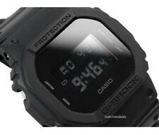 CASIO G-Shock, DW5600BB-1 DW-5600BB-1, BASIC ALL BLACK, DIGITAL, UNISEX