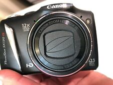 Canon PC1562 PowerShot SX130IS 12.1MP Camera 12x Optical Zoom