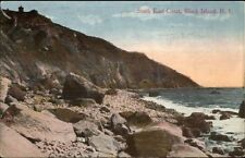 Block Island RI South East Coast c1910 Postcard