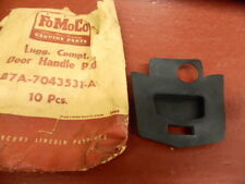 1957 FORD TRUNK HANDLE LUGGAGE COMPARTMENT DOOR HANDLE GASKET PAD NOS