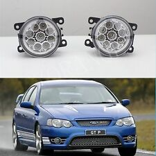 FORD FPV BF FALCON 6000k HIGH POWER FULL LED FOG LIGHTS DRIVING LAMPS F6 GTP