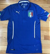 New Puma Figc Italia Home Replica Jersey Soccer World Cup - Size Medium $90