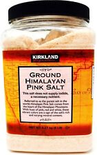 Himalayan Pink Salt Kosher 100% Raw Natural Unrefined Fine Grain, 5 Pounds
