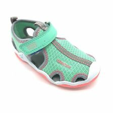 Geox Junior Wader Grey/Mint Girl's Water-friendly Sandal 30% OFF RRP
