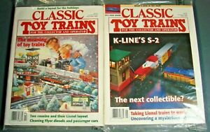 Two New Classic Toy Trains Magazine May November 1995 Issues Still In Mailing Wr