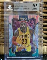 2015 LeBron James PANINI SELECT TRI COLOR PRIZM REFRACTOR #47 BGS 9.5 10 sub PSA