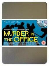 MURDER IN THE OFFICE 80's RETRO Dinner Party Mystery adult Game 8 PLAYERS