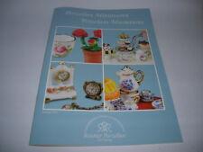 Katalog Reutter Porzellan Porcelain Miniatures 2018 Miniaturen 40 Seiten Neu