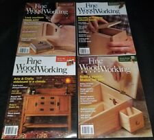 Fine Woodworking magazine lot of 7 issues 2015 complete year