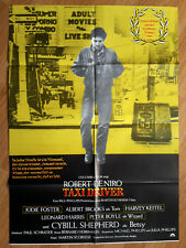 Taxi Driver Martin Scorsese Robert DeNiro - rare German 1 sheet poster 1976 00004000