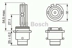 Genuine BOSCH HID BLBD2R D2R 35W P32D-3 - 1987302903