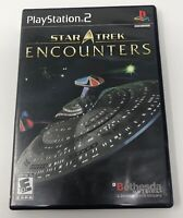 Star Trek: Encounters (Sony PlayStation 2, 2006) Complete! Tested Working PS2