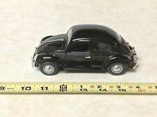 Volkswagen Bug Beetle Die Cast 1:24 Scale Car Black Collectible