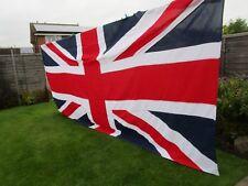 Massive stitched panel Ex British Church UNION JACK FLAG BRITISH MADE 12ft x 6ft