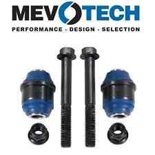 For Buick Chevy Pontiac Pair Set of 2 Rear Upper Control Arm Bushings Mevotech