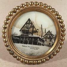 Liberty NY: c.1910s? Souvenir Framed Photo WALNUT MOUNTAIN HOUSE Lodge Hotel