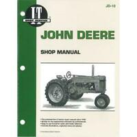 IT MANUAL Fits John Deere 50, 60, 70 GAS MODEL TRACTORS # Fits JD-10 - pm