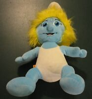 Smurfette Smurf Build A Bear Workshop 2013 Plush Stuffed 17""