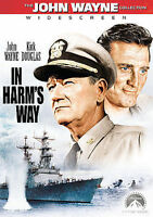 In Harms Way (DVD, 1965, John Wayne Collection, Widescreen) - H0214