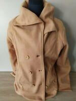 Veste chaude avec écharpe Taille 38/40 FEMME Blanche Porte NEUF