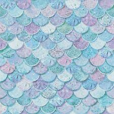 mermazing SIRENA Básculas con Purpurina Papel Pintado - Arthouse 698305 Azul
