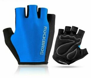 Cycling Gloves Breathable Unisex Half Finger Sponge Pad Bike Bicycle Outdoor