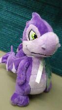 NEW Neopets Purple Scorchio Plush Dragon Toy Series 3 w/ Keyquest Code