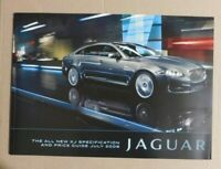Jaguar XJ Brochure 2009 / 2010 (New Shape) - Specifications / prices
