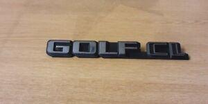 Volkswagen Golf Mk2 Golf CL Rear Badge