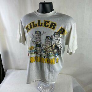 Vintage Hanes Killers B's white t-shirt L Pittsburgh Pirates