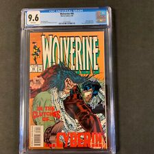 Wolverine 80 CGC Graded 9.6 First appearance of X-23 in test tube Laura Kinney