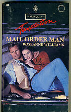 Harlequin Temptation #443 Mail Order Man by Roseanne Williams (1993)