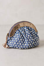 """New Anthropologie Miss Albright """"Eyelet Garden Pouch"""" Zippered ~ Sold Out!"""
