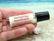 Roll On Aromatherapy Essential Oil - Energizing / Uplifting / Roll On Perfume