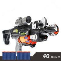Electric Gun N Strike Gun family Outdoor Blaster Soft Darts Bullets Inc