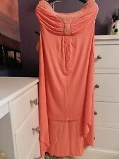 Next midi dress, Size 14, Colour coral,  New without tags