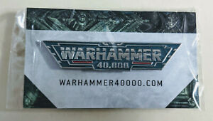 Warhammer 40,000 9th Edition Pin Badge NEW 40K Games Workshop Limited Edition