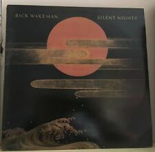 RICK WAKEMAN Silent Nights 1985 UK  Vinyl LP EXCELLENT CONDITION