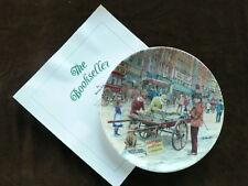 Davenport Cries of London Collector Plate, The Bookseller