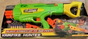 Air Warriors Vampire Hunter Blaster Gun Buzz Bee Toys NEW in box