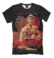 Kickboxer movie t-shirt - 1989 American martial arts film tee Van Damme print