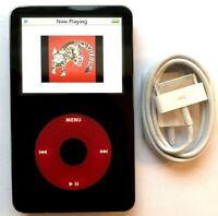 U2 Edition iPod Classic Video 5th Enhanced Gen Red 60GB Thin Custom Refurbished!