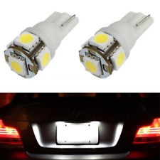 2 x White 168 194 2825 HID 5 SMD LED Bulbs For License Plate Lights