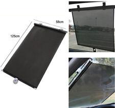 Car Retractable Window Sun Shade Visor Folding Auto Windshield Block Cover Black