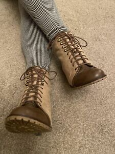 New Look Victorian Lace Up Ankle Stiletto Size 6 EUR 39