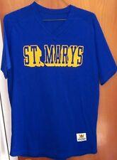 ST. MARY'S High School lrg football jersey Roughriders nylon mesh Sand-Knit OHIO