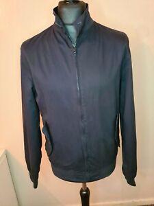 Mens Brave Soul Long Sleeve Waterproof Jacket Black - Medium